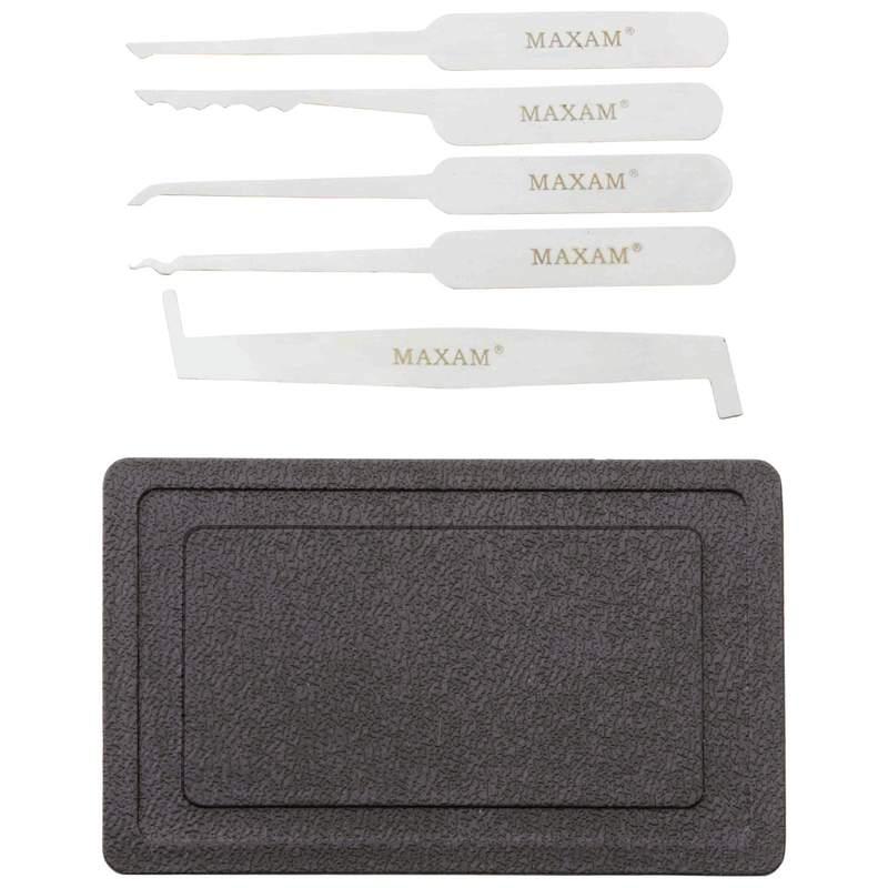 Maxam 5 piece Lock Pick Set with Case MTPICK