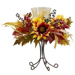 Sunflower Candelabrum 4933