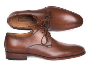 Paul Parkman Antique Brown Derby Shoes 696AT51