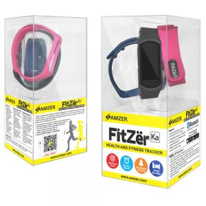 Amzer® FitZer Ka - Black 98001