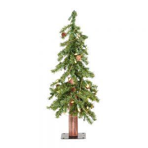 Vickerman 2 Feet x 14 inch Alpine Tree Dura-Lit LED 50WW A807221LED