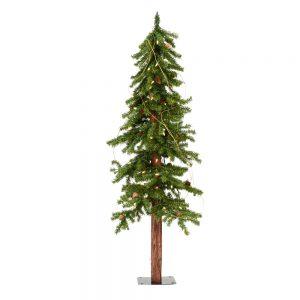 Vickerman 4 Feet x 25 inch Alpine Tree Dura-Lit LED 100WW A807241LED