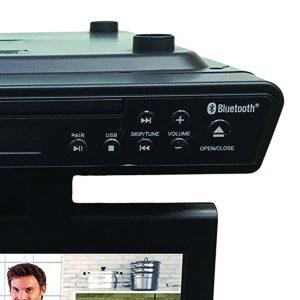 """SYLVANIA SKCR2706BT 10.2"""" Under-Counter Bluetooth® Kitchen TV with Built-in DVD Player & HDMI® CURSKCR2706BT"""