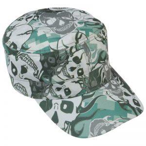 Casual Outfitters Grey Skull Camo Design Cap GFCAP3SC
