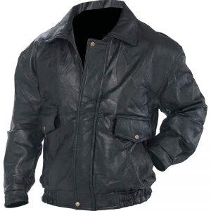 Napoline Roman Rock Design Genuine Leather Jacket GFEUCT4X-5X