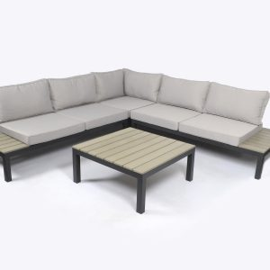 Tortuga Sky Rise 4 Piece Outdoor Patio Sectional Set