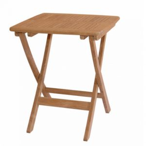 Anderson Teak Windsor 24 inch Square Picnic Folding Table TBF-024S