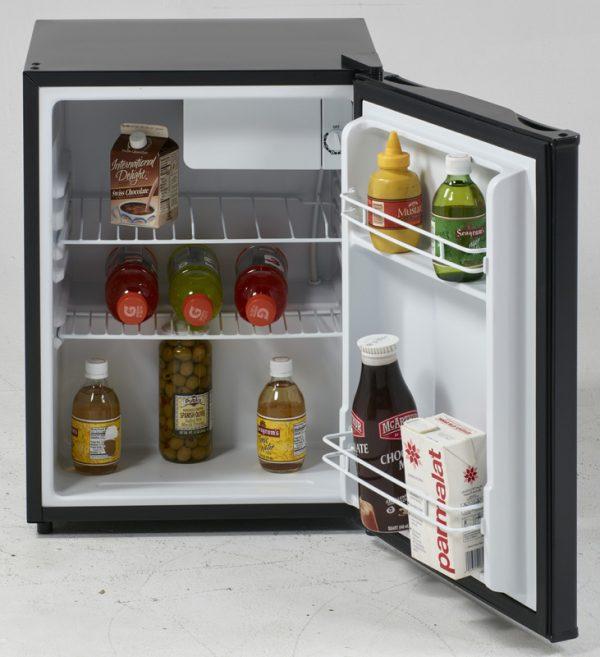 Avanti Black 2.4 CF compact refrigerator RM24T1B