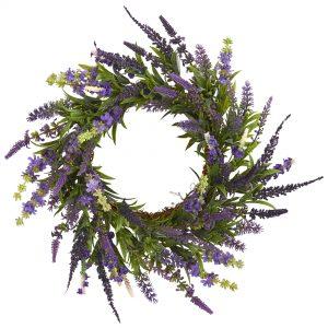18 inch Lavender Wreath 4215