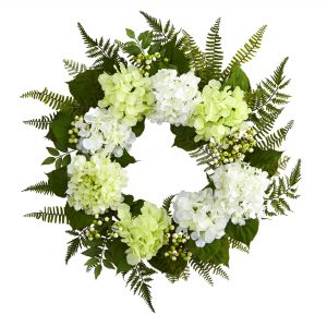 24 INCH Hydrangea Berry Wreath 4238