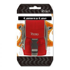 Reiko Small Carrying Camera Case S Size Inches In Red CMC03-SRD