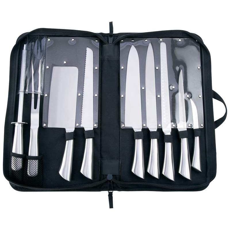 Slitzer™ 10 piece Professional Surgical Stainless Steel Cutlery Set CTSZ10S
