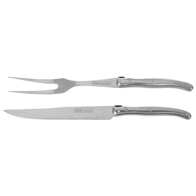 Slitzer Germany® 2 piece European-Style Carving Set in Display Box CTSZEBX2