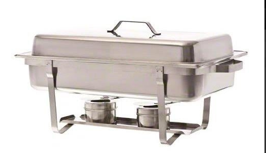 Stainless Steel Double Burner Chafer JB-SCC-16
