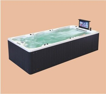 4800mm Outdoor Swimming Pool whirlpool Bathtub Acrylic Hydromassage TV SPA NS2010
