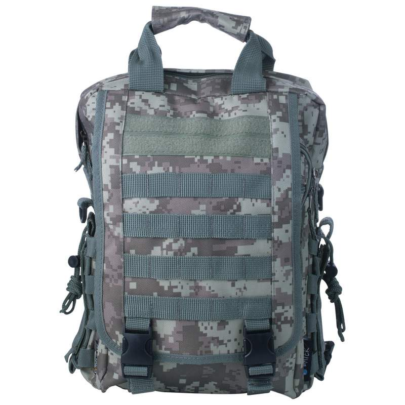 Extreme Pak™ Digital Camo Water-Resistant Heavy-Duty Tactical Backpack LUBPBFDC