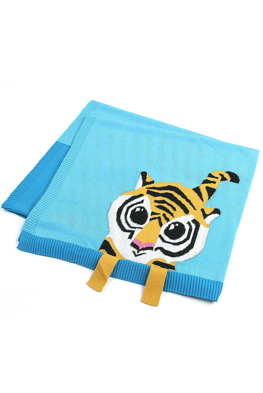Sapphire Tiger Baby Receiving Blanket TZ17002-4