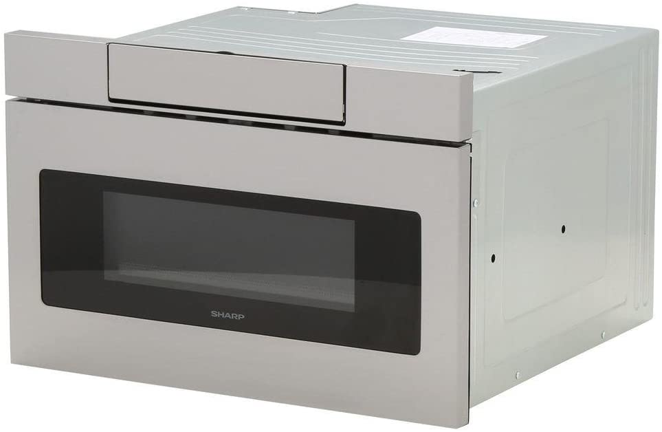Sharp SMD2470AS Microwave Drawer Oven, 24-Inch 1.2 Cu. Feet, Stainless Steel