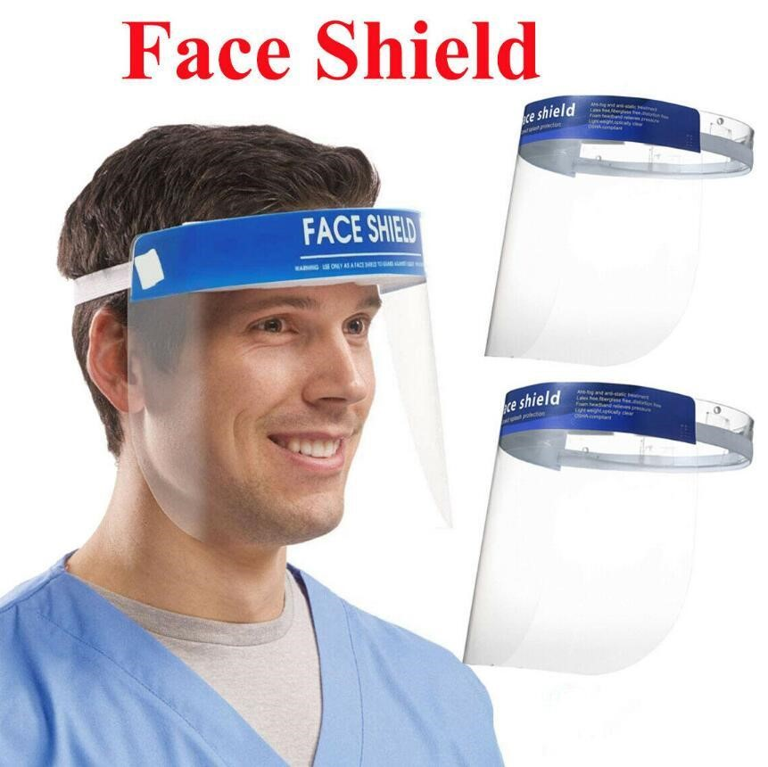 Reiko HD Face Shield Protection 2 Pcs FS01-CL