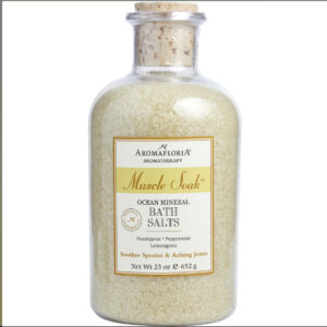 Aromafloria Muscle Soak Ocean Mineral Bath Salts 23 oz