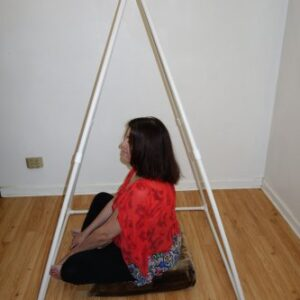 5' Feet Tall Pyramid Russian Nubian Style Meditation PVC Non-Metalic Portable