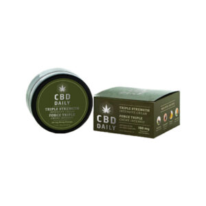 Earthly Body CBD Daily Intense Cream Triple Strength 1.7 oz