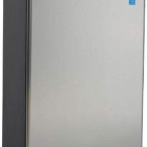 Avanti AR4456SS Counterhigh Refrigerator, 4.5 cu. ft, Black/Stainless Steel