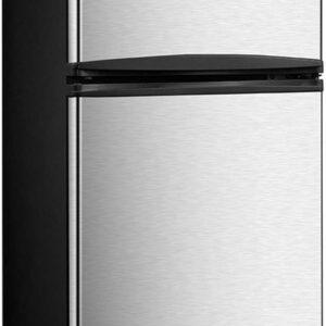 "Avanti RA31B3S 3.1 Cubic Foot 2-Door Counter-high Refrigerator/Freezer, 33.5"" x 18.8"" x 19.8"", Black"