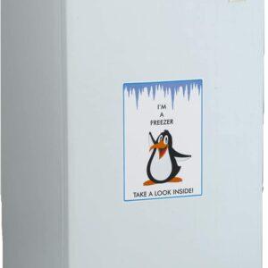 Avanti VF306 White 2. 8 cu ft Vertical Freezer