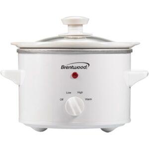 Brentwood 1.5 Quart Slow Cooker