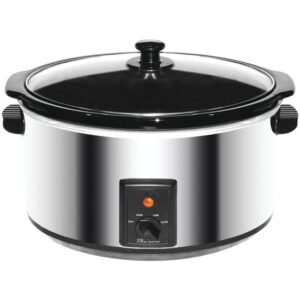 Brentwood 8 Quart Stainless Steel Slow Cooker