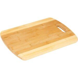 Chef Secret® Bamboo Two-Tone Cutting Board