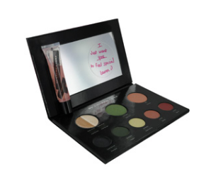 Lauren Luke My Luscious Greens-Complete Makeup Pallet