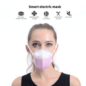 Smart Electric Mask with 4-Layer efficient filtration FM03-PK