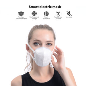 Smart Electric Mask with 4-Layer efficient filtration FM03-WH