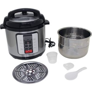Precise Heat™ 6.3 Quart. Electric Pressure Cooker –Stainless Steel Inner Pot