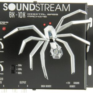 Soundstream Bx10x Bass Reconstruction Processor -Black
