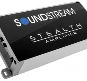 Soundstream ST4.1200D Stealth Series 1200W Class D 4 Channel Amplifier