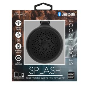 Sentry Industries SPBT7: Bluetooth Wireless Speaker Splash-Proof