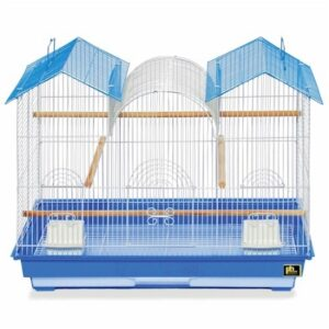 Prevue Hendryx Parakeet Triple Roof Flight Cage PP-1804TR