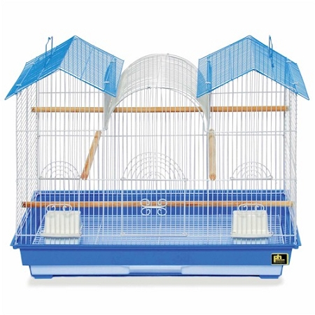 Prevue Hendryx Parakeet Triple Roof Flight Cage PP-1804TR