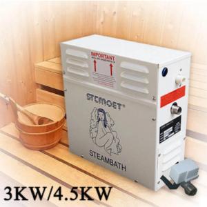 3KW 4.5kw Steam Generator for Shower 220V 380V Home Steam Machine Sauna Bath SPA Steam Shower with Digital Controller