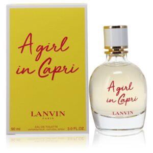 A Girl in Capri 3 oz Eau De Toilette EDT Perfume Spray