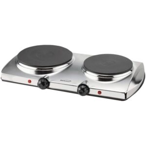 Brentwood 1,440-Watt Double-Burner Electric Hot Plate