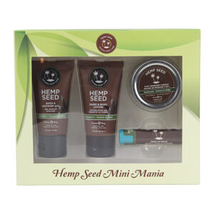 Earthly Body Hemp Seed Mini Mania Kit - Guava Lava