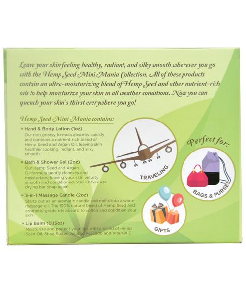 Earthly Body Hemp Seed Mini Mania Kit - Guava Lava