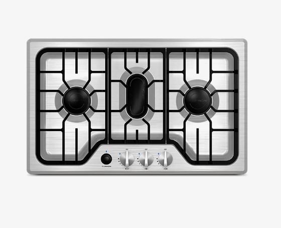 Furrion RV 3-Burner Chef Collection Gas Cooktop