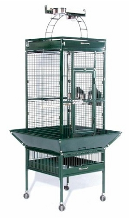 Prevue Hendryx Small Wrought Iron Select Bird Cage PP-3151 green