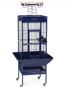 Prevue Hendryx Small Wrought Iron Select Bird Cage PP-3151 blue