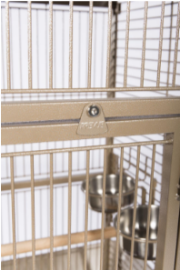 Prevue Hendryx Small Wrought Iron Select Bird Cage PP-3151 coco